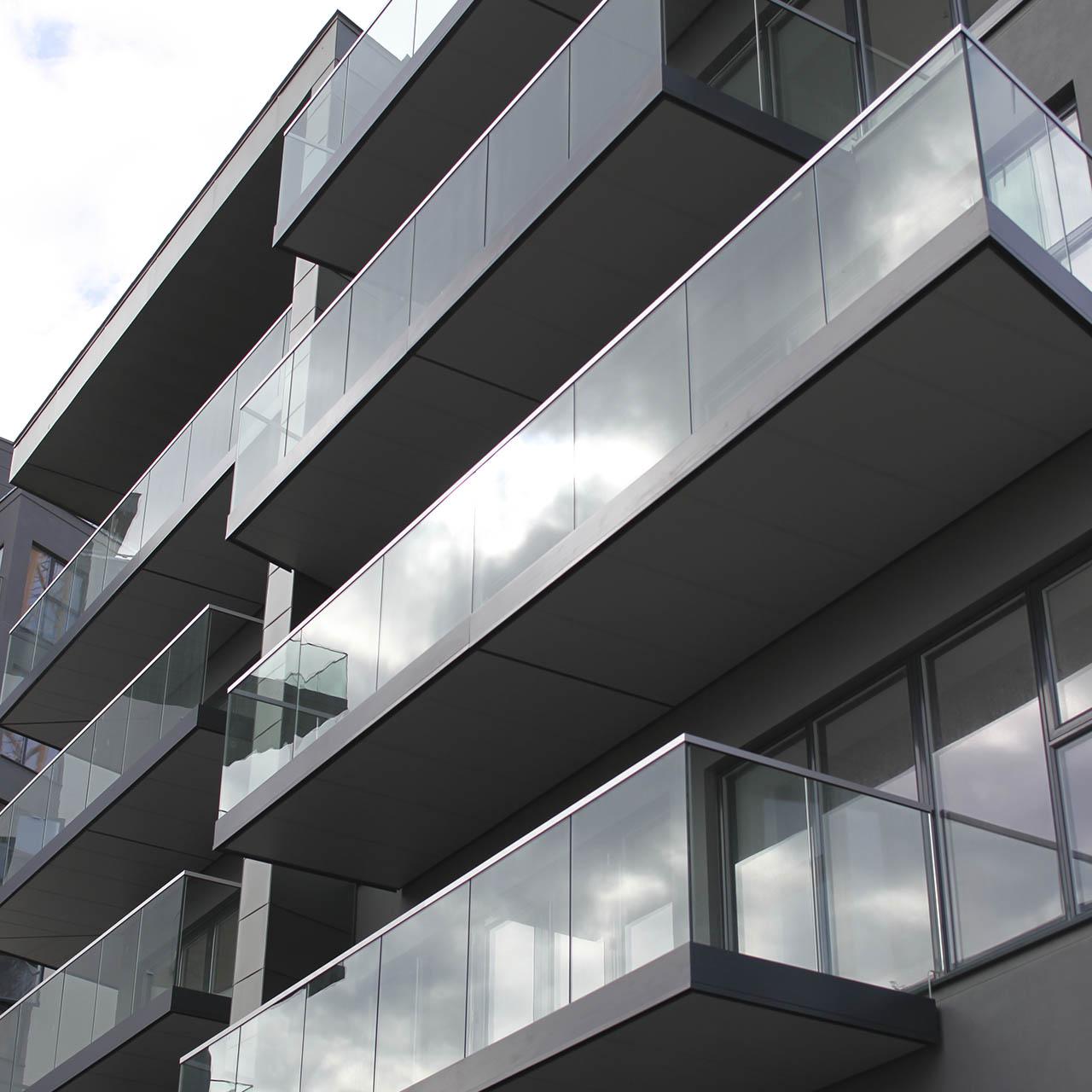 contemporary balustrades