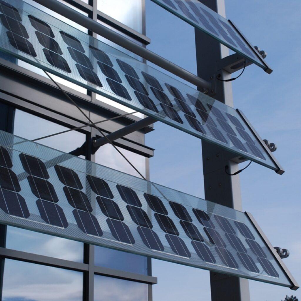 Glass PV Fins