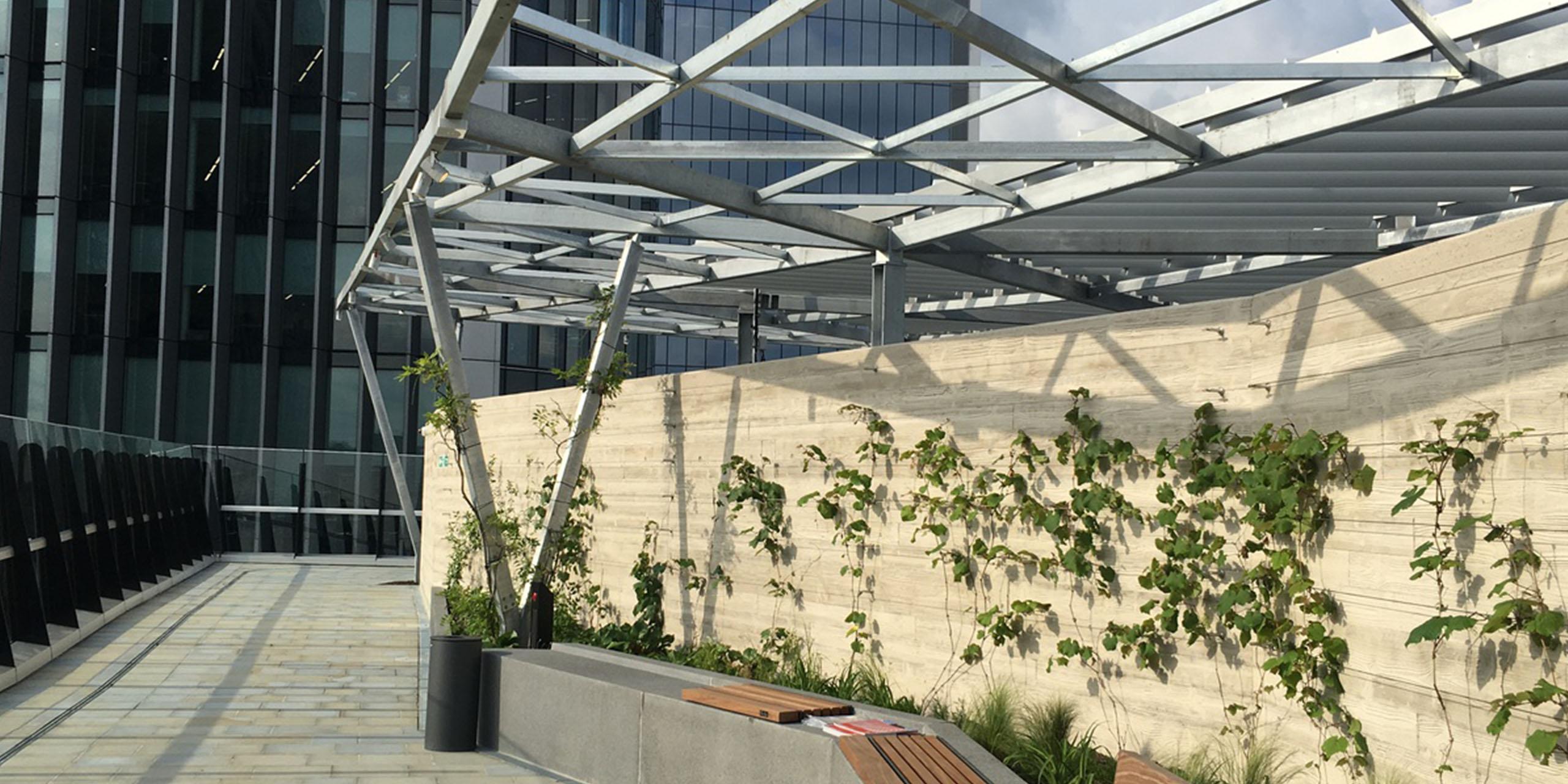 10 Fenchurch Avenue, London | Roof Plant Screening | Levolux