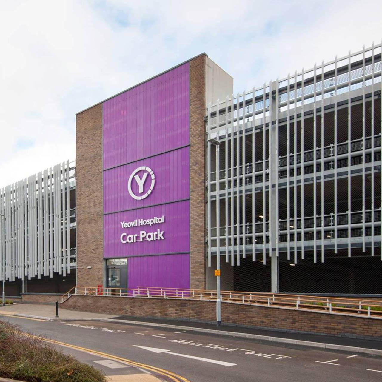 profile of yeovil district hospital car park