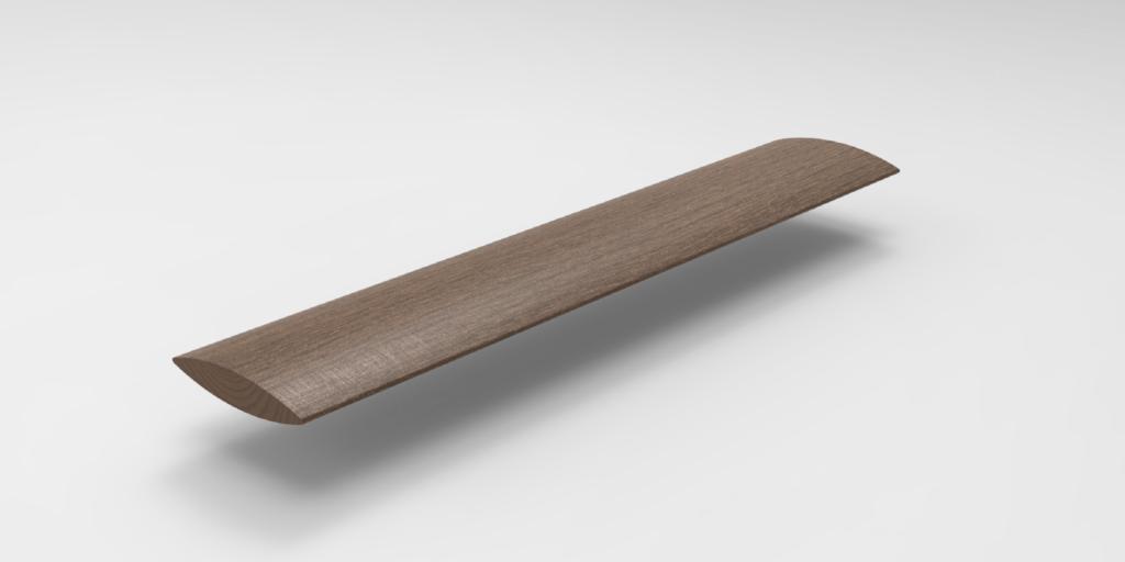 Timber Aerofoil 200×50