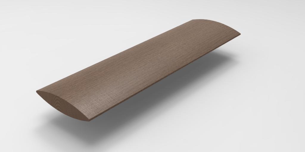 Timber Aerofoil 300×50