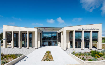 Another successful project recently completed by Levolux at Les Quennevais School, Jersey.
