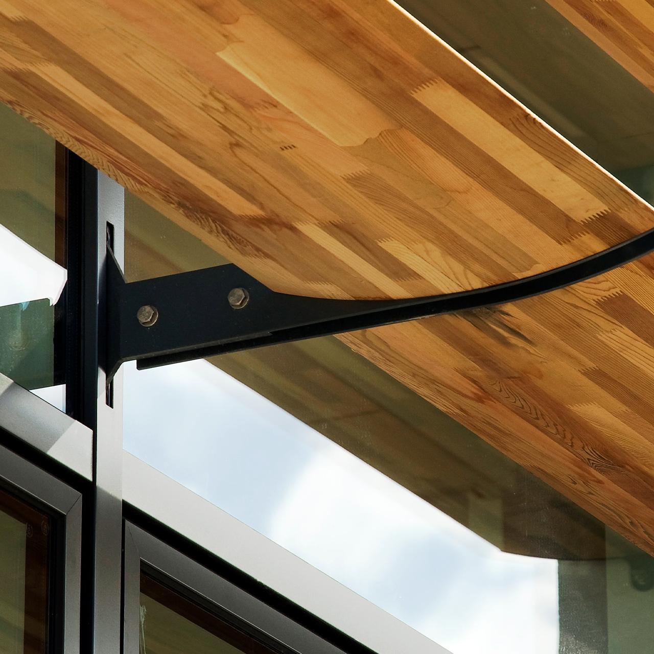 discreet aluminium fins system